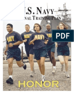 navy personal fitness training plan