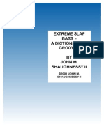 Extreme Slap Bass PDF