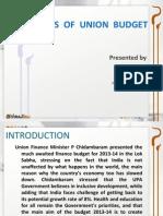 Highlights on Budget 2013-14