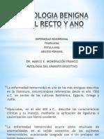 Patologia Benigna Del Recto y Ano