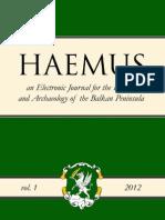 Haemus 1 - 2012