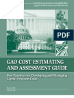 Cost Estimating and Assessment Guide