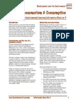 3. Consumerism & Consumption