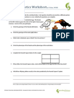Mendelian Genetics Worksheet - Talktoak
