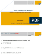 Sap Business Intelligence Training