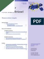 Tirol Buero Bruxelles, newsletter am 14.Maerz 2013