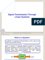 Ssp Pt Signal Transmission Through Linear Systems