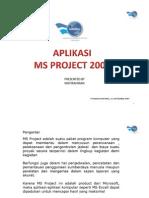 Aplikasi MS Project 2003beginner