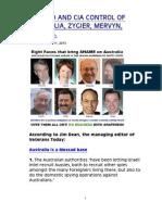 Mossad and CIA Control of Australia, Zygier, Mervyn, Jenkins.