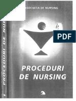 Proceduri de Nursing I