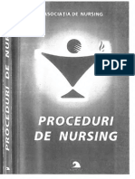 Proceduri de Nursing I