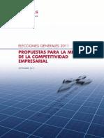 Propuestas Partidos Ecciones 2011 Pymes