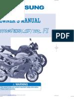 Hyosung GT650 EFI Service Manual