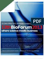 BioFourm 2013