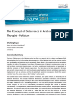 The Concept of Deterrence in Arab and MuslimThought - Pakistan