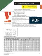 35 US-422T Utility Wedge Sockets
