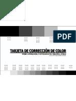 Targeta de Correccion de Color2