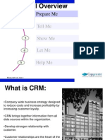 SAP CRM Functional Overview - V1.0