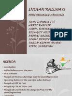 Indian Railways Macroeconomics