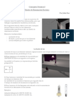 Conceptos Técnicos I Diseño de Iluminación Escénica