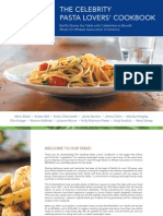 Celebrity Pasta Lovers Cookbook