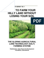"HOW TO FARM YOUR HILLY LAND WITHOUT LOSING YOUR SOIL MBRLC ""HOW TO SERIES"" NO. 1"