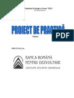 Proiect Practica - BRD