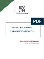 (Nuevas propuestas para nuevos tiempos_versión 5 de marzo 2012)