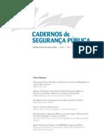 Cadernos de Seguranca Publica - n03 - 2012
