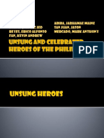 Unsung and Celebrated Heroes of the Philippines
