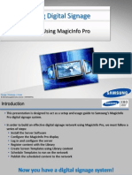 Guide to Using MagicInfo Pro 4-5-12