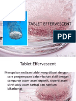 Tablet Effervescent