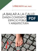 A Bailar a La Calle,Danza Contemporanea, Espacio Publico y Arquitectura (2)