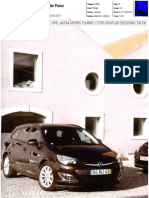 """RENAULT MÉGANE SPORT TOURER 1.6 dCi 130 BOSE EDITION FRENTE AO OPEL ASTRA SPORTS TOURER 1.7 CDTI NA """"AUTO FOCO"""""""