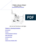 Planning & Statistics chapter from Public Library Helper by Edward Elsner