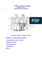 Policies (Board Positions) chapter from Public Library Helper by Edward Elsner
