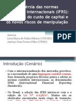 Apresentação Artigo IFRS