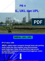 Pb 4 Amdal, Ukl, Upl