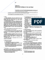 ASTM 123 Specification for Hotdip Galvanised on Steel[1]