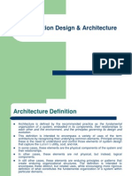 Application Design & Architecture