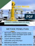 Metodologi dan Metode Penelitian