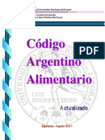 Código Alimentario Argentino