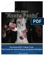 """Democrats' """"Ryan Hocus Pocus Memo"""""""