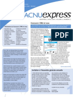 ACNUExpress Vol.2 No.3 - Avril 2004