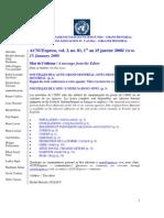 ACNUExpress Vol.3 No.1 - Du 1 Au 15 Janvier 2008