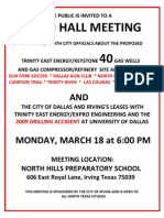 Irving Town Hall Meeting