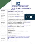 ACNUExpress Vol.3 No.19 - Du 16 Au 31 Octobre 2008
