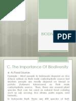 Biology Biodiversity.