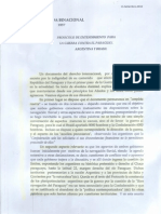 Protocolo Brasil-Argentina 1857 Escaneado Imprenta