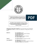 2013 TPSB Minutes February 19